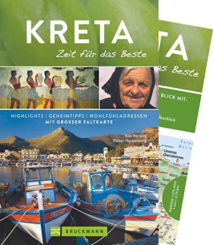 Bruckmann Reiseführer Kreta: Zeit für das Beste. Highlights, Geheimtipps, Wohlfühladressen. Inklusive Faltkarte zum Herausnehmen. NEU 2019