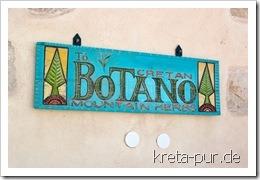 Ladenschild von Botano in Kouses