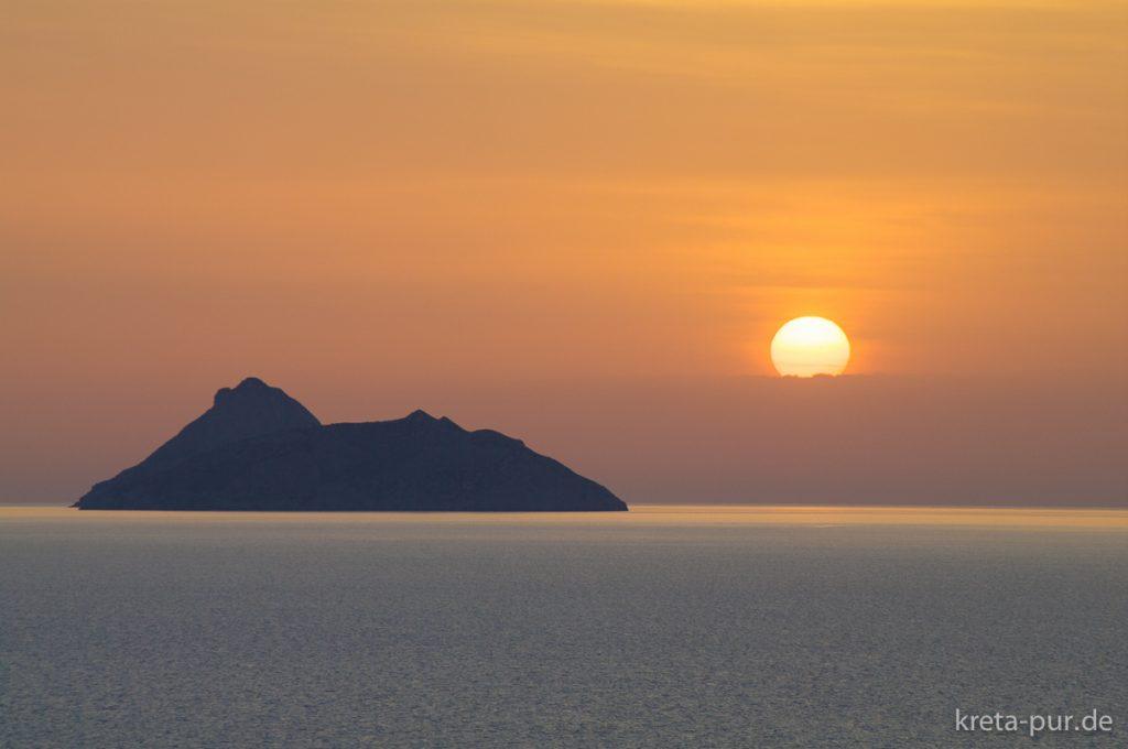 Sonnenuntergang in Kalamaki