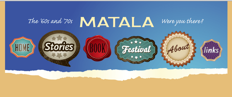 Screenshot matala.nl Matala-Hippie-Geschichten