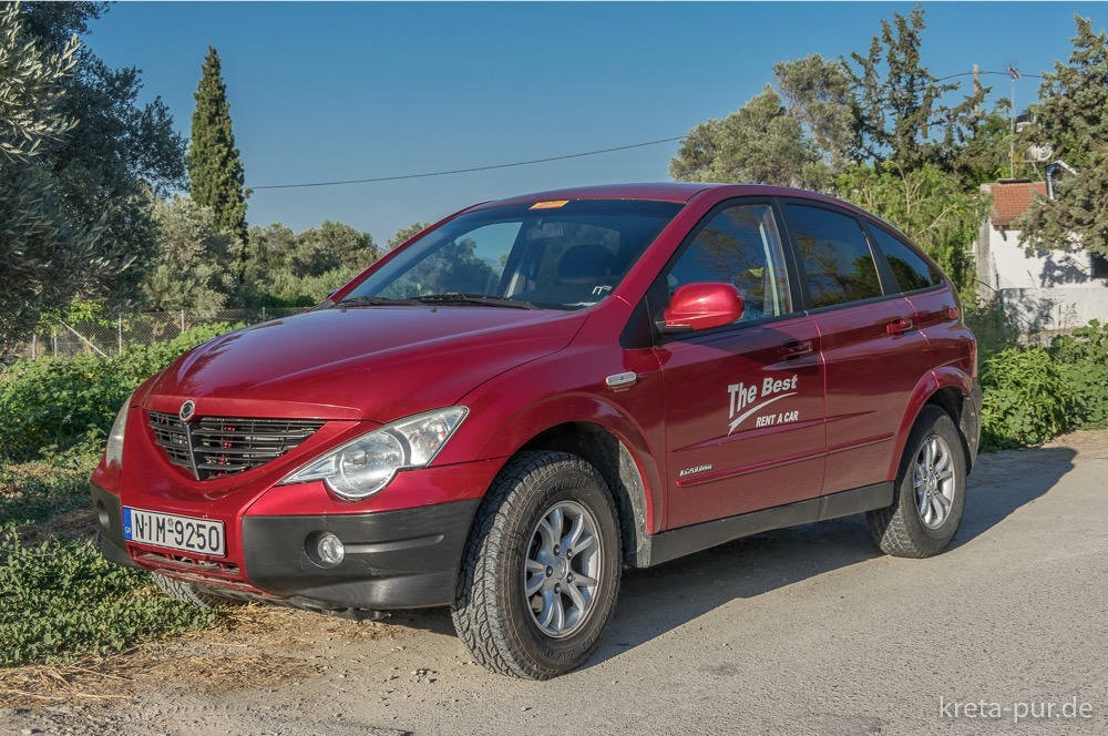 The Best Car Rental, Ssangyong Actyon 4x4