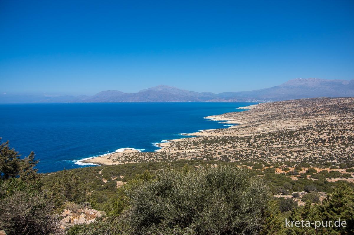 Küste südlich von Matala