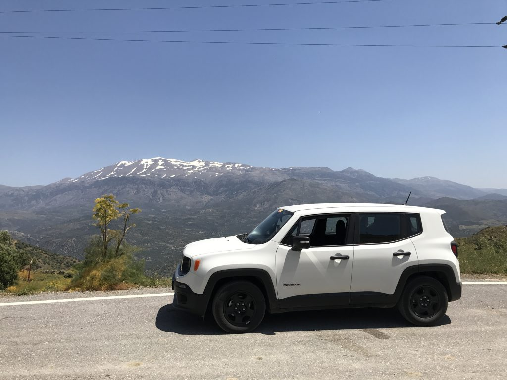 Unterwegs mit einem Jeep Renegade von The Best