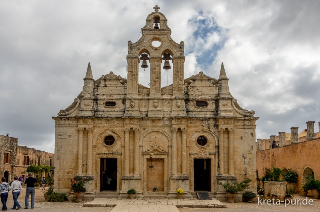Kloster Arkadi, Kirche