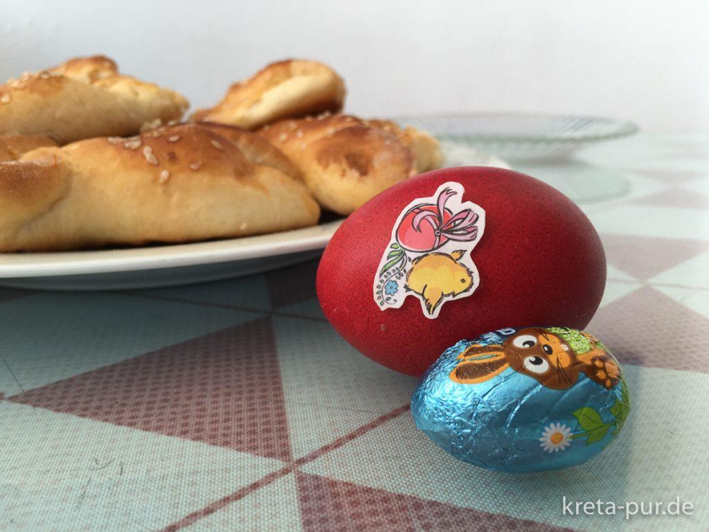Ostern in Griechenland - Rot gefärbte Eier gehören immer dazu