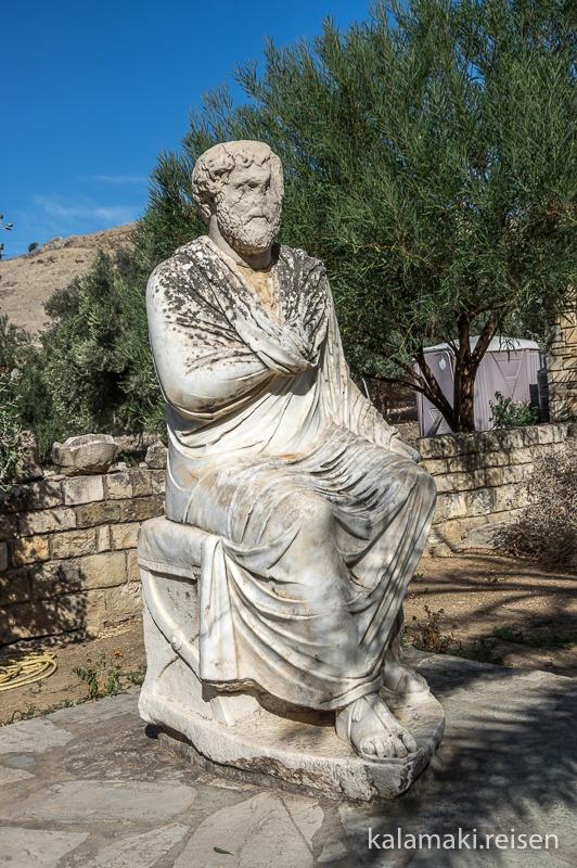 Statue in Gortys