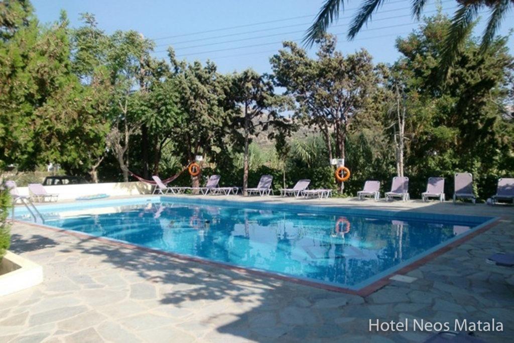 Hotel Neos Matala - Pool