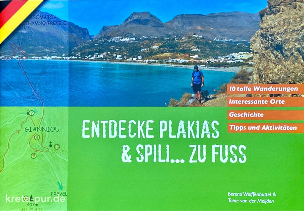 "Cover ""Entdecke Plakias & Spili... zu Fuss"""